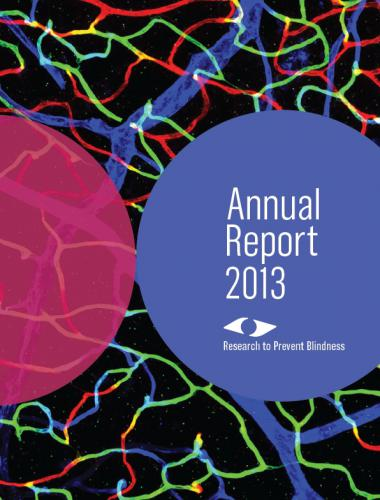 2013 RPB Annual Report Cover