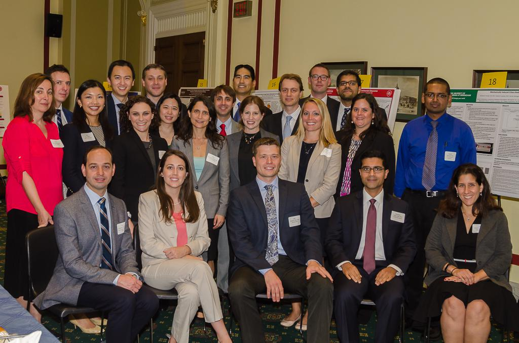 Emerging vision scientists at AVER Congressional reception