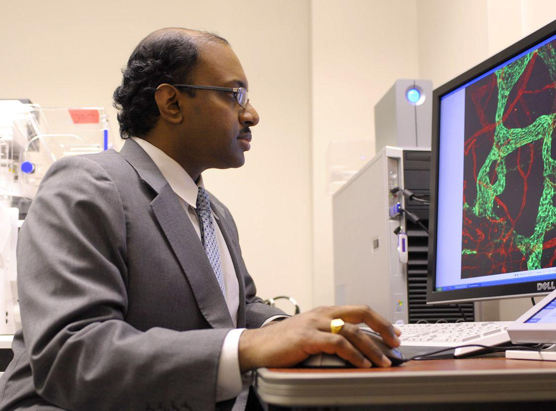 Dr. Ambati led the research team