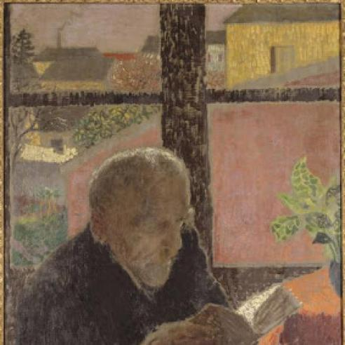 Elderly Man At Window