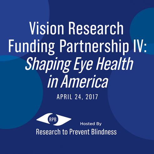 Poster for Vision Research Funding Partnereship