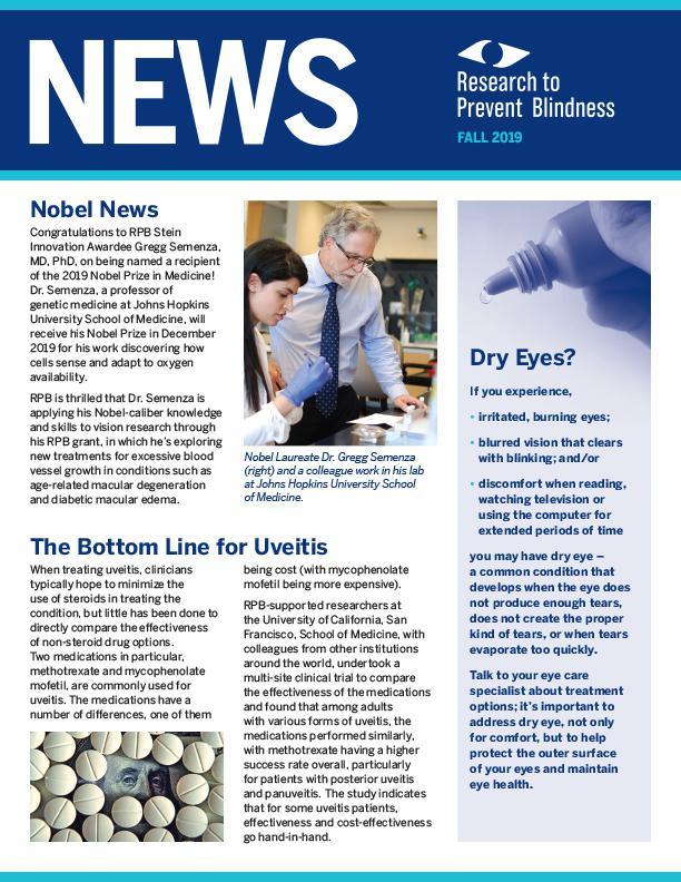 RPB Eye Research News Fall 2019
